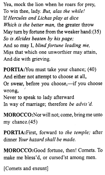 merchant-of-venice-act-2-scene-1-translation-meaning-annotations - 2