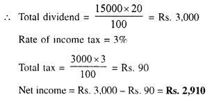 Selina Concise Mathematics Class 10 ICSE Solutions Chapter 3 Shares and Dividend Ex 3A 11