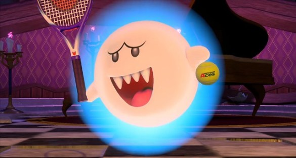 Mario Tennis Aces - Boo Mirage Mansion