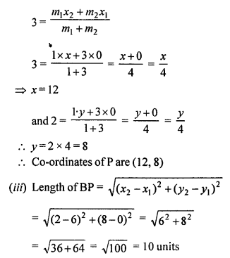 Selina Concise Mathematics Class 10 ICSE Solutions Chapter 13 Section and Mid-Point Formula Ex 13C 19.2