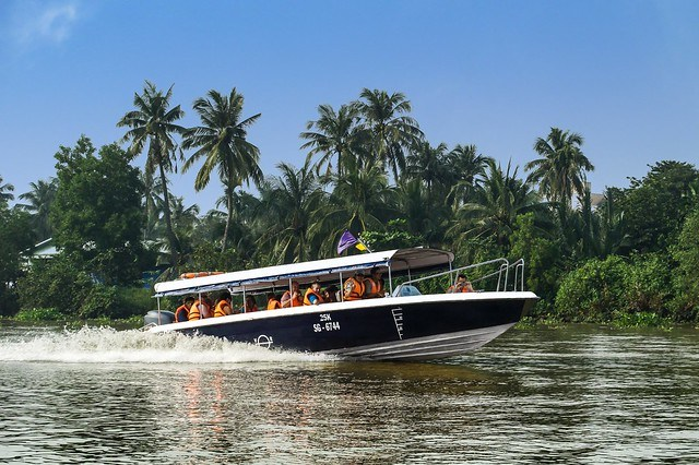 4a. Half-Day Cu Chi Tunnels from Ho Chi Minh City by Luxury Speedboat