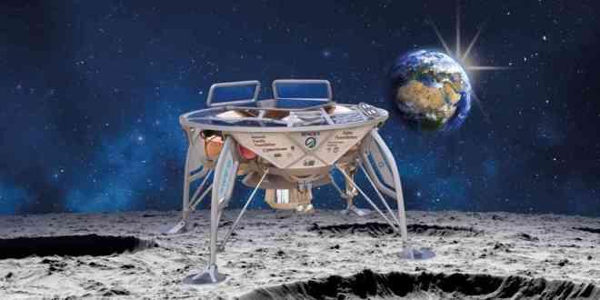 Israël-lancer Moon-Lander