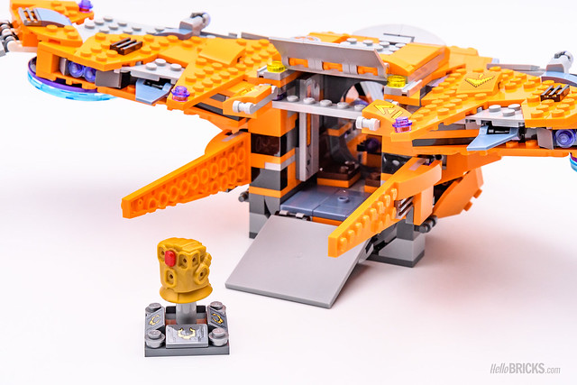 REVIEW LEGO Marvel 76107 Thanos Ultimate Battle 13