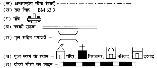 NCERT Solutions for Class 11 Geography Practical Work in Geography Chapter 5 (Hindi Medium) 1