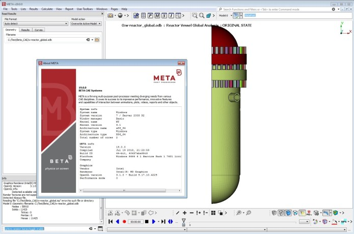 Working with BETA CAE Meta Post v19.0 full crack