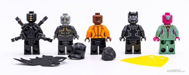 REVIEW LEGO Marvel 76103 Corvus Glaive Thresher Attack 2