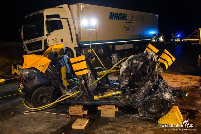 Tödl. Verkehrsunfall Kelsterbach 12.08.2018
