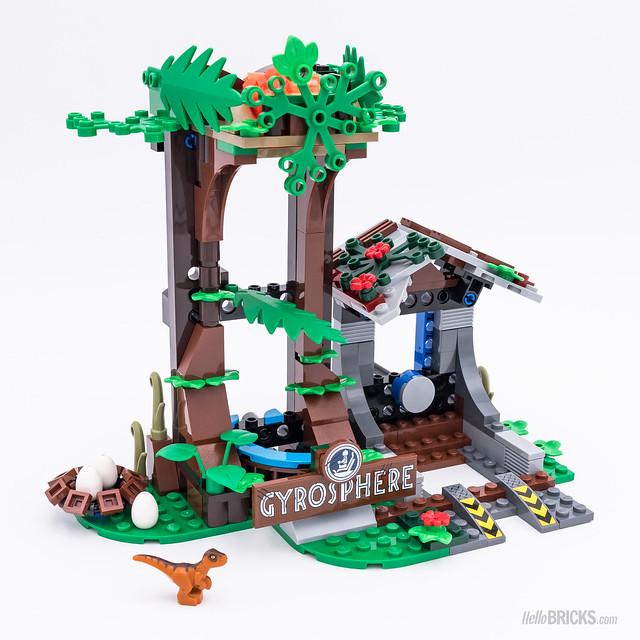 REVIEW LEGO 75929 Carnotaurus Gyrosphere Escape