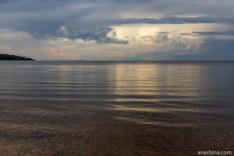 Штиль, Ладожское озеро, Приозерск