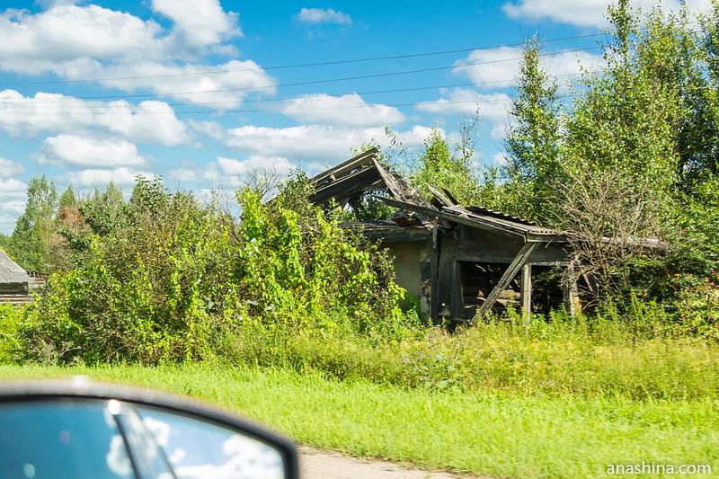 Разрушенный дом, Тверская область