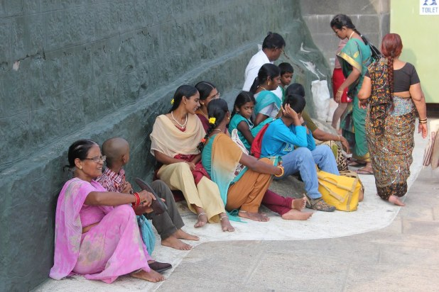 Sari en India