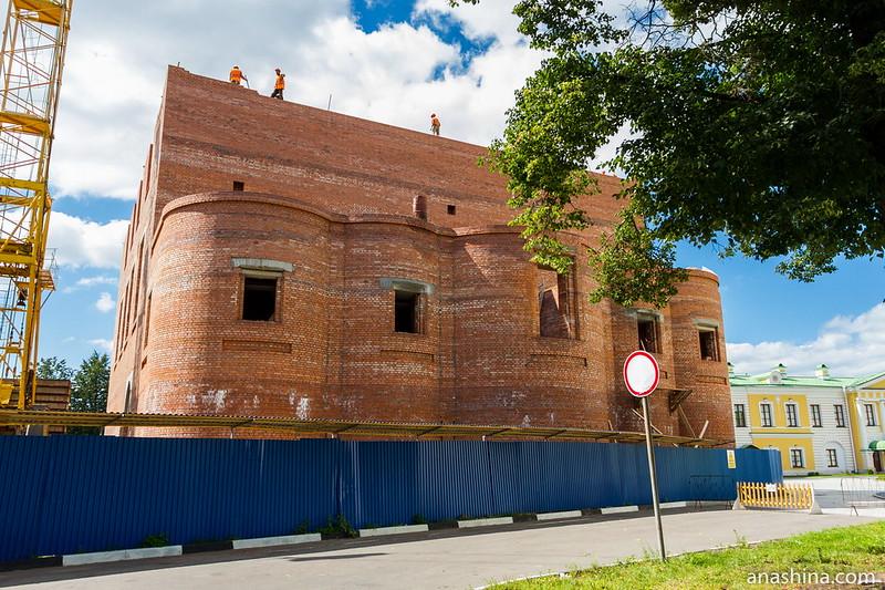 Воссоздание Спасо-Преображенского собора в Твери