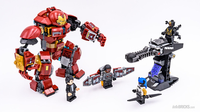 REVIEW LEGO Marvel 76104 The Hulkbuster Smash-Up 10