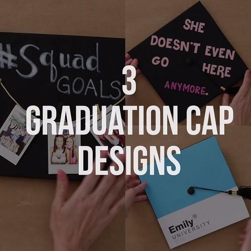 Graduation Gifts : 3 DIY Graduation Cap Design Ideas
