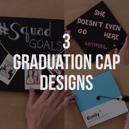 Graduation Gifts : 3 DIY Graduation Cap Design Ideas