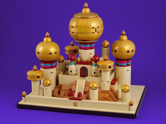 Agrabah microscale Disney Aladdin LEGO Architecture