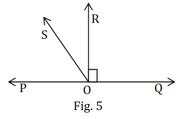 NCERT Maths Class 9 Hindi Medium Lines and Angles Solutions 6.1 5