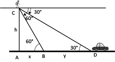 RS Aggarwal Solutions Class 10 Chapter 14 Height and Distance Ex 14a 26