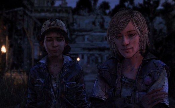The Walking Dead La temporada final - Violeta