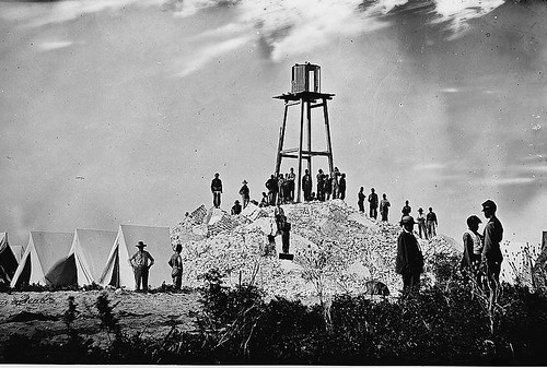 Morris_Island_(vicinity),_South_Carolina._Ruins_of_Charleston_lighthouse