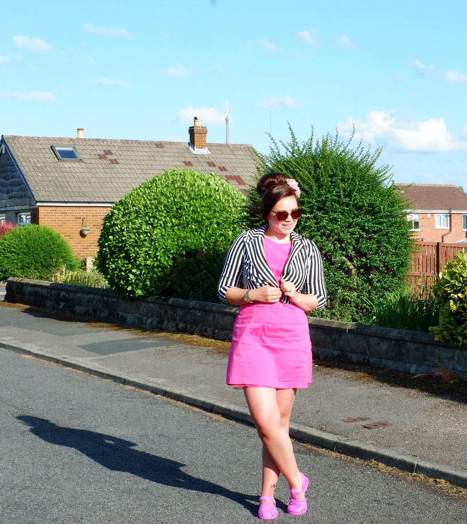 Stripes and Pink To Make You Blink - Stripes Jacket