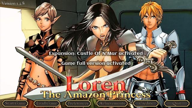 Loren La Princesse Amazone - Uncensored avec succès