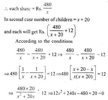 Selina Concise Mathematics Class 10 ICSE Solutions Chapter 6 Solving Problems Ex 6E 16