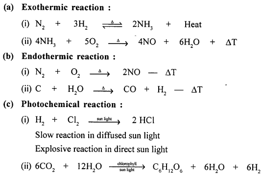 New Simplified Chemistry Class 9 ICSE Solutions - Chemical Changes and Reactions 10.1