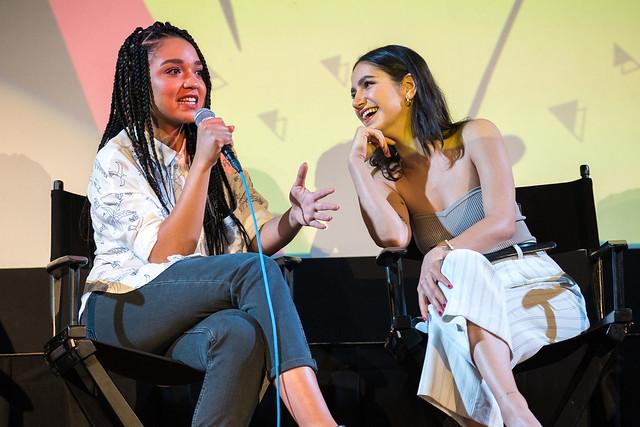 Aisha Dee and Nikohl Boosheri
