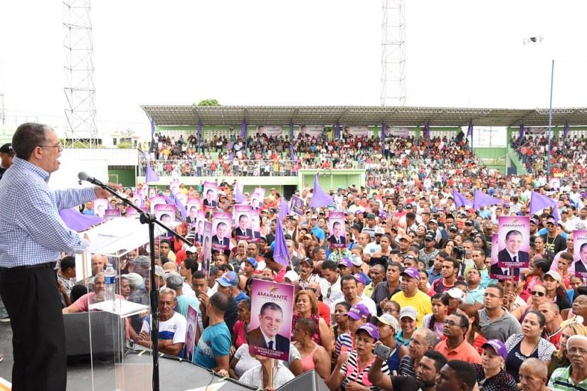 Espaillat, Moca. Encuentro de Apoyo Masivo, 1 julio 2018