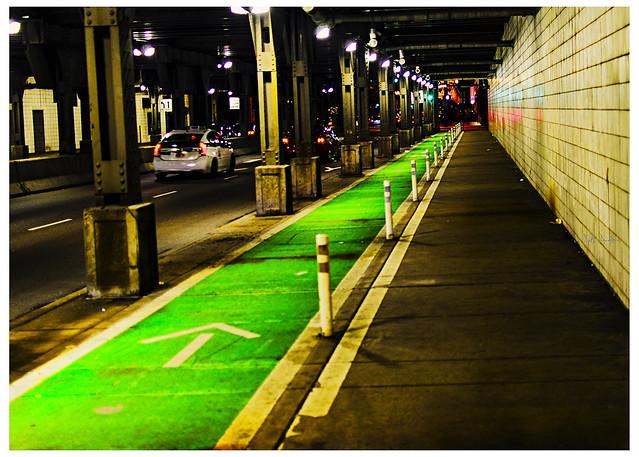 Urban Bike Lane