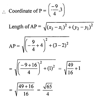 Selina Concise Mathematics Class 10 ICSE Solutions Chapter 13 Section and Mid-Point Formula Ex 13C 15.1