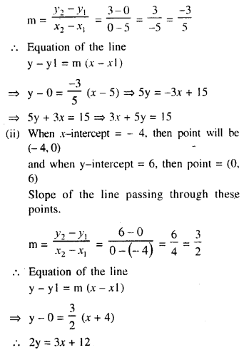 Selina Concise Mathematics Class 10 ICSE Solutions Chapter 14 Equation of a Line Ex 14C 15
