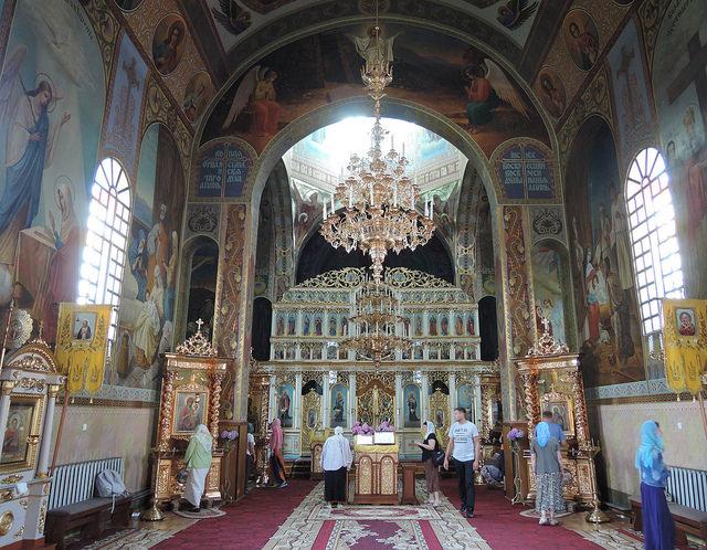 2018 07 Свято-Вознесенский женский монастырь в с. Чумалево Закарпатской области.