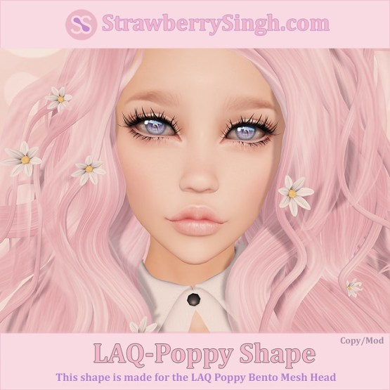 StrawberrySingh.com Laq-Poppy Shape