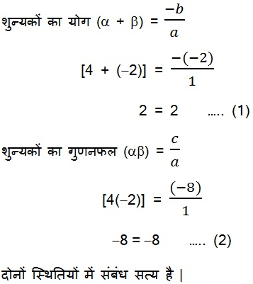 NCERT Books Solutions For Class 10 Maths Hindi Medium Chapter 2 Polynomial 2.2 8