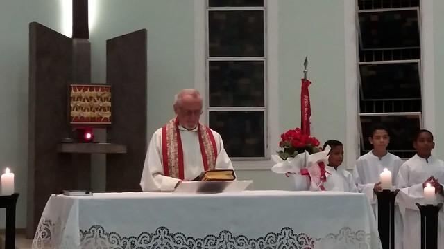 Homenagem aos viúvos e viúvas e 51 anos de ordenação sacerdotal Pe. Herbert