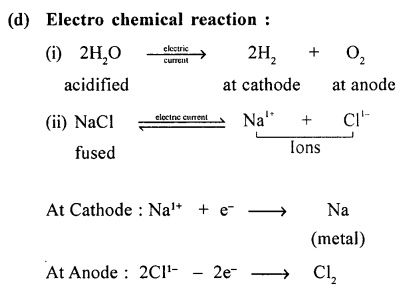New Simplified Chemistry Class 9 ICSE Solutions - Chemical Changes and Reactions 11