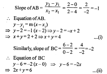 Selina Concise Mathematics Class 10 ICSE Solutions Chapter 14 Equation of a Line Ex 14D 23