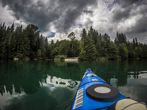 Kayaking on Baker Lake-164