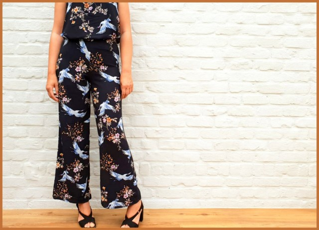 sue pants + leila top = jumpsuit