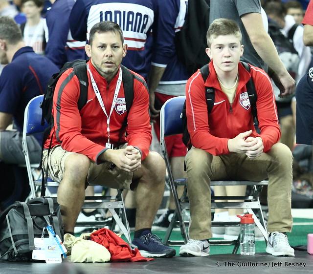 Minnesota Coaches Joe Block and Victor Gliva 180714AJF0036