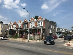 Rowhouses, 4000 block of Greenmount Avenue (east side), Baltimore, MD 21218