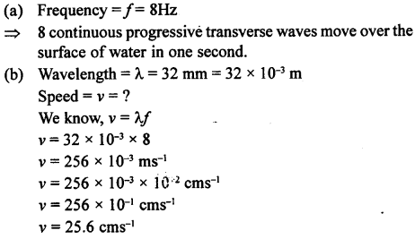 A New Approach to ICSE Physics Part 1 Class 9 Solutions Sound 10.1