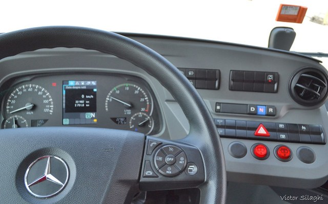 MB Citaro Hybrid bord