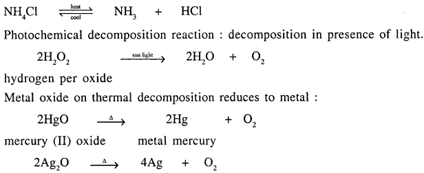 New Simplified Chemistry Class 9 ICSE Solutions - Chemical Changes and Reactions 8.2