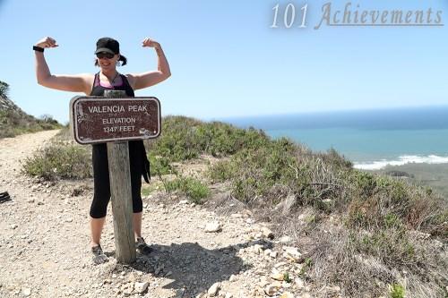 Valencia Peak Hike