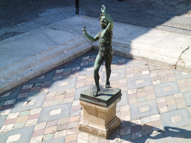 Fauno en Pompeya