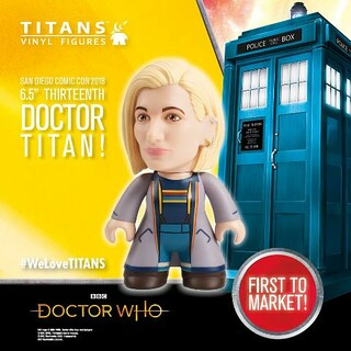 SDCC TITAN ADS 1 DOC WHO versions 5