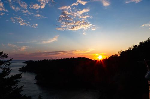 Sunset over Deception Pass-003